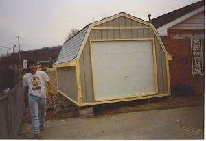 10x12 Yard Barn